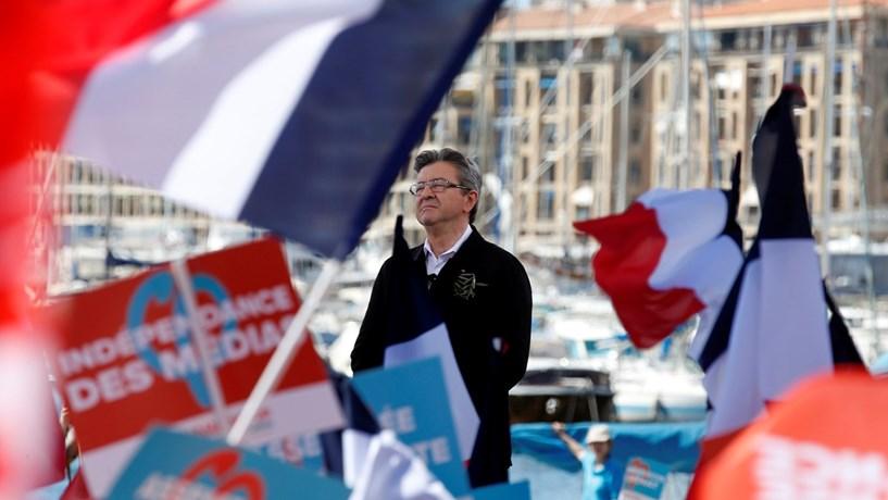 França: Porta-voz de Mélenchon recusa cenário português na esquerda francesa