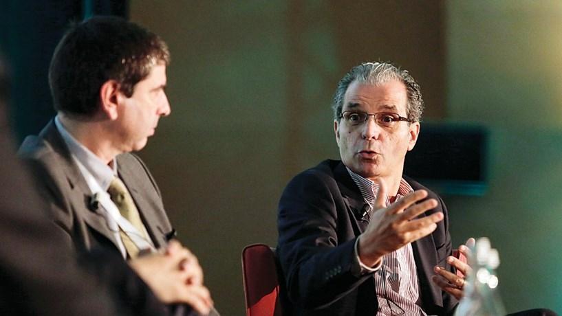 Pedro Silva, da Efacec e Ricardo Tomaz, da Volkswagen, falaram sobre as novas tecnologias de mobilidade