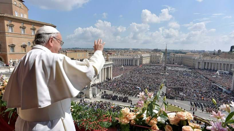 Papa reza pelas vítimas