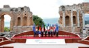As imagens da primeira cimeira do G7 com Donald Trump