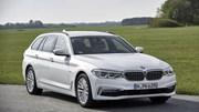 BMW Série 5 Touring: Familiar de topo