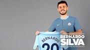 Bernardo Silva protagoniza terceira maior transferência lusa após Ronaldo e Figo