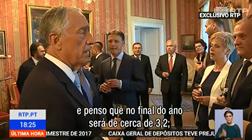 Marcelo e a previsão de crescimento de 3,2%: