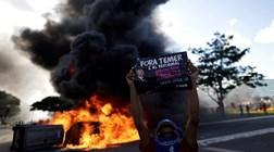 Temer chama tropas federais para conter manifestantes