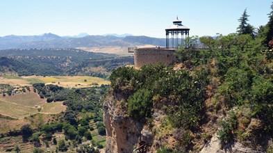 Uma pequena maravilha  na serra de Málaga