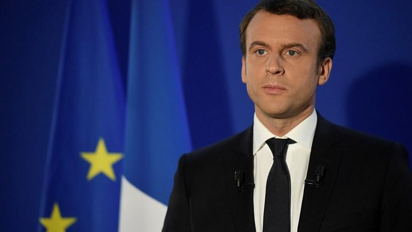 """Macron: """"O mundo espera por nós, que sejamos fortes, sólidos e clarividentes"""""""