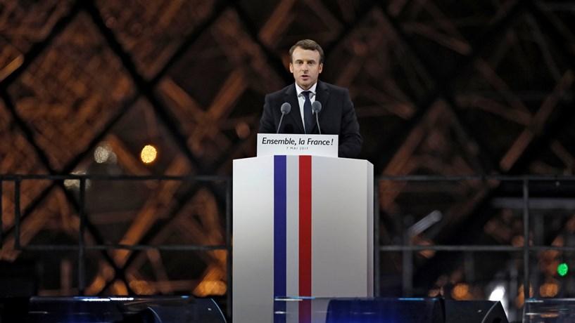 "Macron vai apresentar a ""mãe de todas as reformas"""