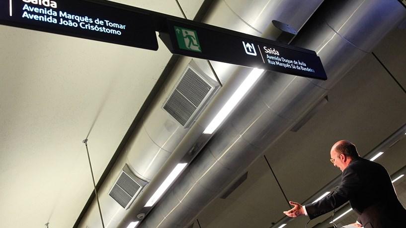 Mais estações de metro em Lisboa. Onde é que já vimos isto?