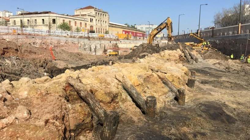 Antiga doca no CUF Tejo tem 350 anos e remonta ao domínio espanhol