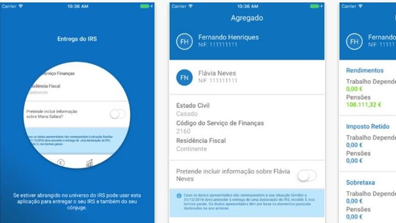 Finanças lançam 'app' para entregar o IRS