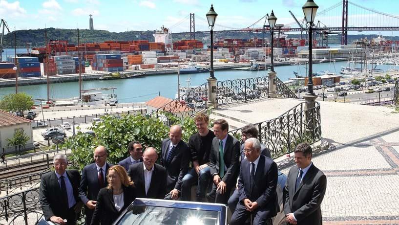 """Mercedes cria em Lisboa """"Autoeuropa do digital"""""""