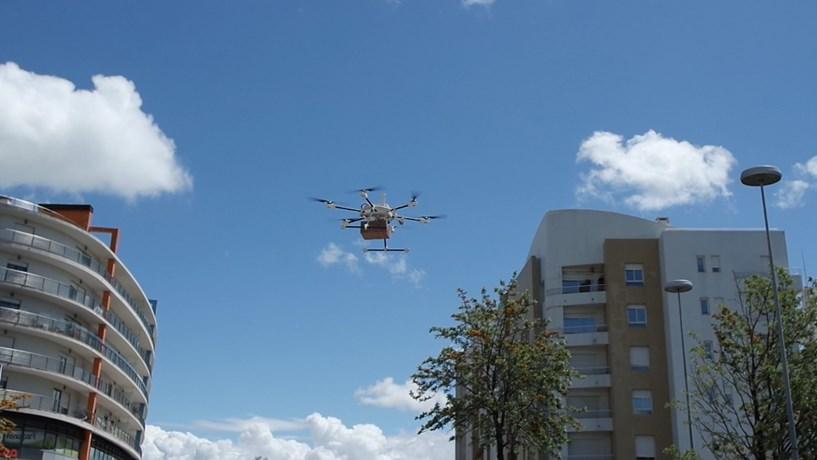 """CTT testam """"drones"""" para entregar correio"""