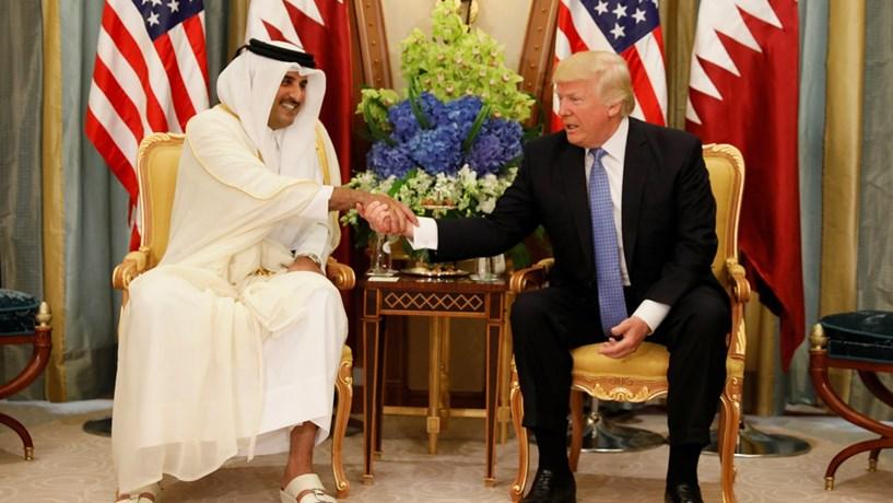 Trump reclama créditos pelo isolamento do Qatar