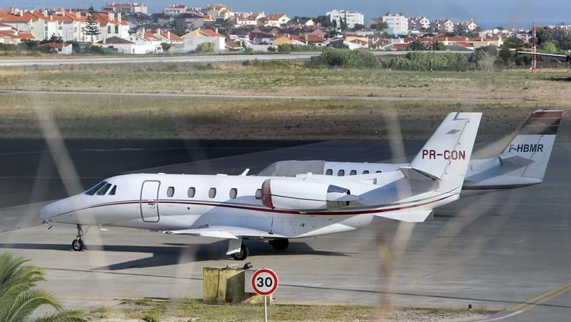 Aeródromo de Tires em obras para receber toda a aviação executiva de Lisboa