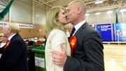 A noite eleitoral no Reino Unido em imagens