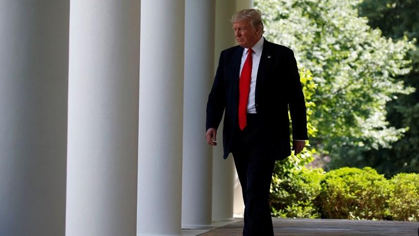 Trump quer pôr painéis solares no muro a construir na fronteira com o México