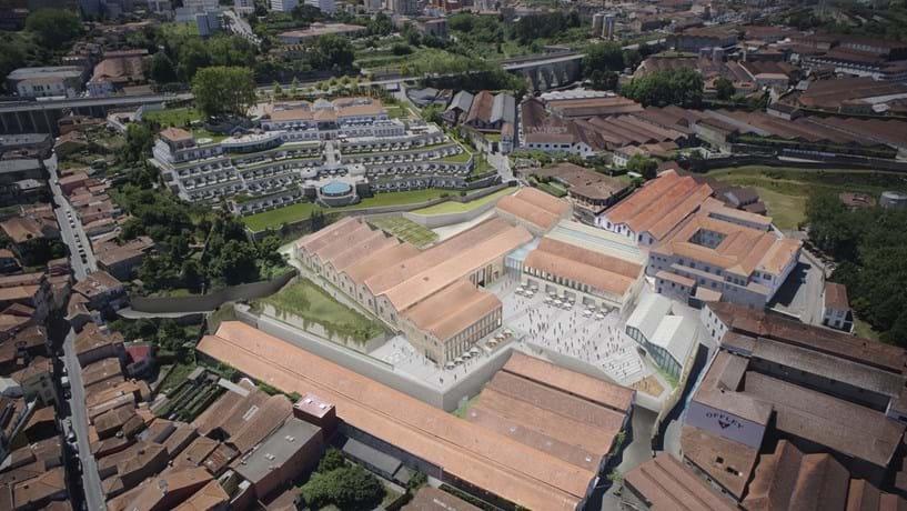 """Fladgate """"saca"""" 100 milhões para fazer WoW no centro histórico de Gaia"""