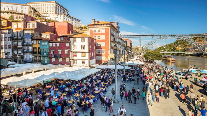 Discussão da taxa turística no Porto arranca com mais de seis milhões à vista