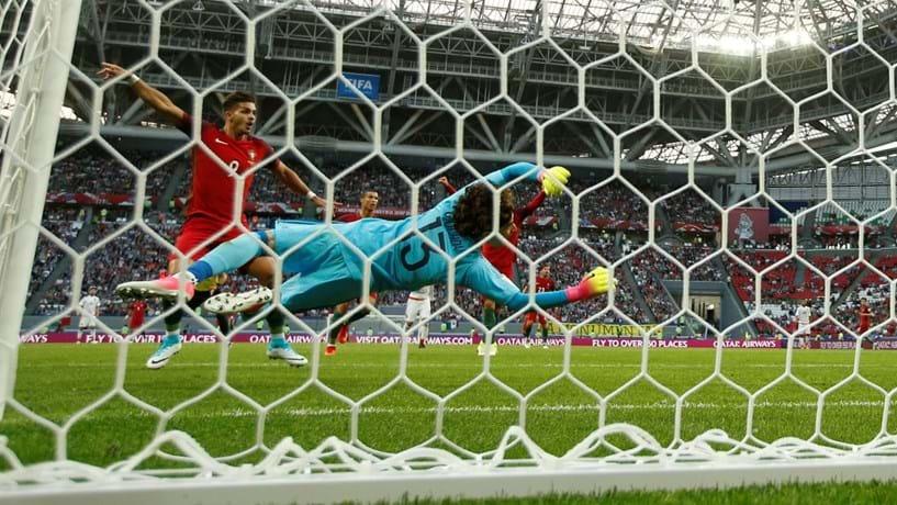Taça das Confederações: Portugal e México empatam 2-2