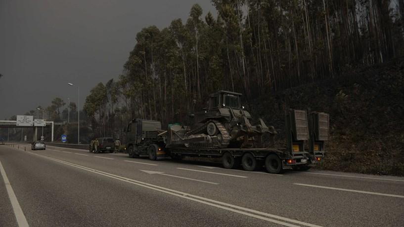 IC8 cortado de novo na zona de Alvaiázere