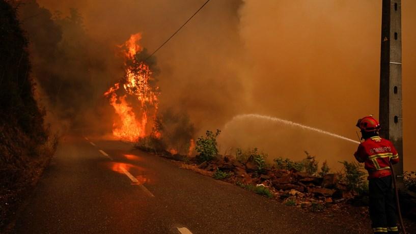 Reacendimentos na Pampilhosa da Serra, após fogo ter estado