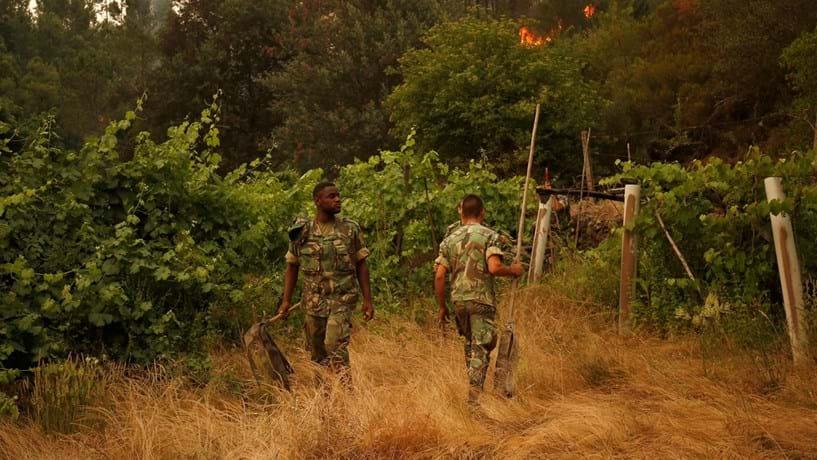 Góis: Mantém-se objectivo de deixar incêndio resolvido hoje