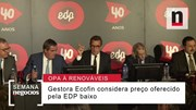 Quais as críticas feitas pela gestora britânica à EDP na OPA sobre a EDP Renováveis?