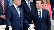 Trump em Paris assiste ao desfile da Tomada da Bastilha e procura a paz com Macron