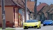 Seis Lamborghini na Transilvânia