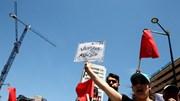 O protesto dos trabalhadores da PT/Meo em imagens
