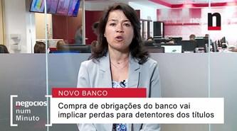 Novo Banco vai comprar obrigações