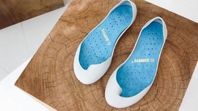 Calçado para andar descalço vence prémio de indústrias criativas