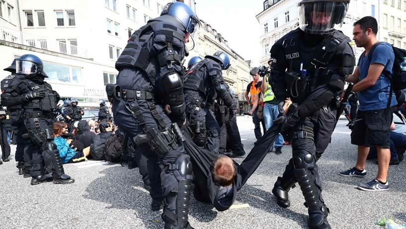 Número de detidos nos confrontos da cimeira do G20 sobe para 143