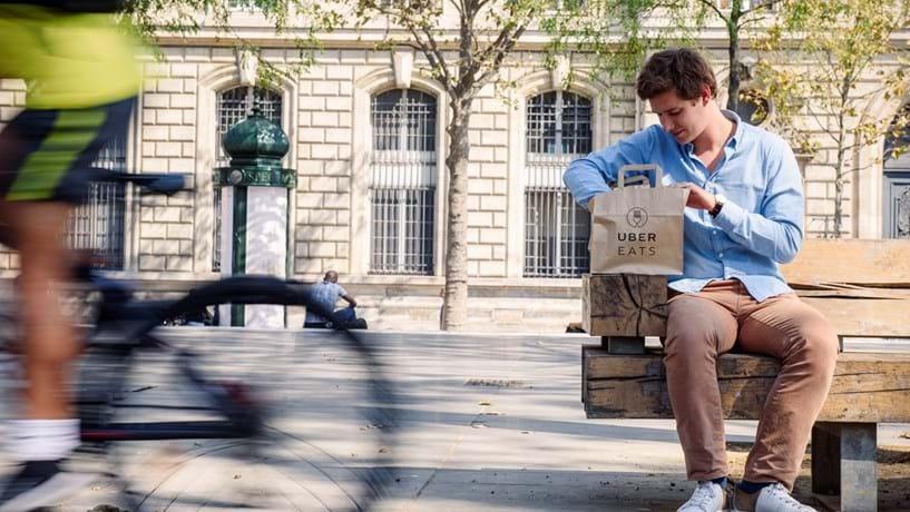 Uber entrega refeições em Lisboa a partir desta semana