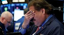 Sell-off em Wall Street com escalada da guerra comercial. Bolsas caem quase 3%