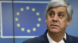 Centeno diz que só decide recandidatura ao Eurogrupo perto do fim do mandato