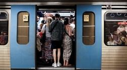 Covid-19: Metro de Lisboa controla temperatura na entrada das instalações