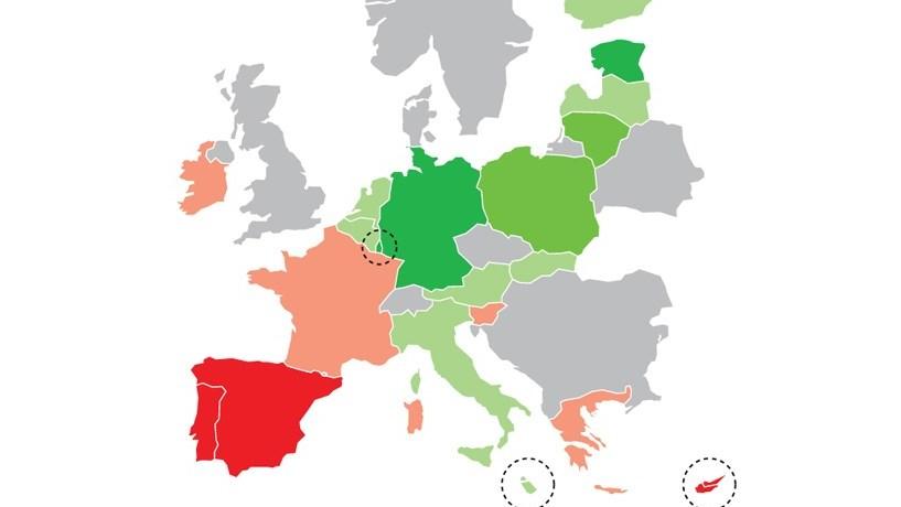 Portugal a vermelho no mapa europeu dos dfices e da dvida portugal a vermelho no mapa europeu dos dfices e da dvida pblica sciox Image collections