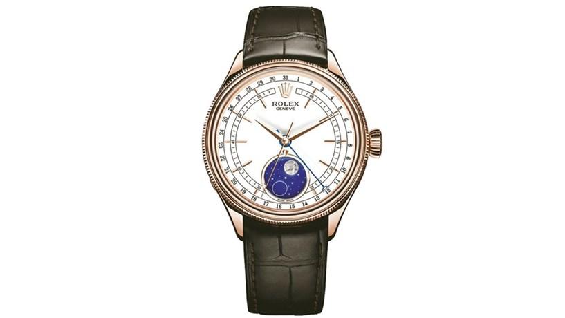 34dfed4fdd2 É a Lua que influencia decisivamente a nova proposta da Rolex. Trata-se do novo  modelo da colecção Cellini
