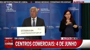 Vídeo: António Costa anuncia as medidas da 3.ª fase de desconfinamento